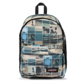 Laptoptas Eastpak Out of Office Rugzak Sky Filter 14 inch Voorkant