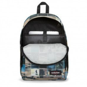 Laptoptas Eastpak Out of Office Rugzak Sky Filter 14 inch Open