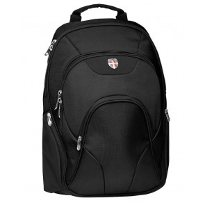Laptoprugzak Ellehammer Deluxe Backpack Black 17 inch voorkant