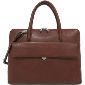 Gigi Fratelli Dames Leren Laptoptas 13.3 inch Romance Business ROM8013 Brandy Voorkant