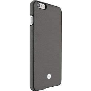 Just Mobile Quattro Back Cover iPhone 6/6S Plus Grey achterkant met silver iPhone