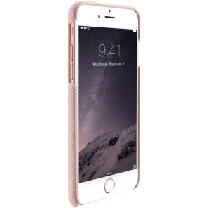 Just Mobile Quattro Back Cover iPhone 6/6S Plus Pink voorkant