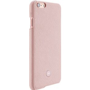 Just Mobile Quattro Back Cover iPhone 6/6S Plus Pink zij- en achterkant