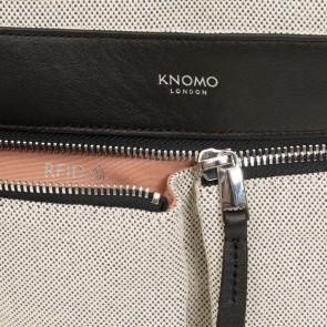 Laptoptas Knomo Curzon Tote Canvas 15 inch RFID vakje