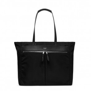 Knomo Grosvenor Place Tote Black 15 inch Voorkant