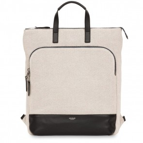 Knomo Harewood Laptop Rugzak Tote Canvas 15 inch Voorkant