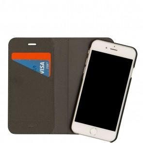 Knomo iPhone 6/6S Plus Mag Folio Black Open