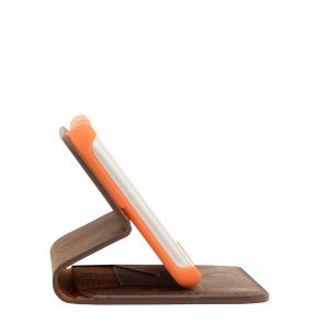 Knomo iPhone 8/7 Plus Hoesje Leather Premium Folio Brown Kijkstand