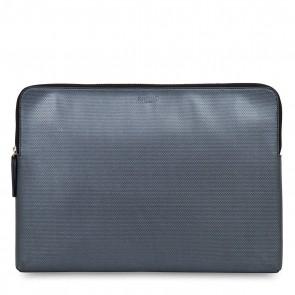 Knomo Laptop Sleeve Embossed Silver 15 inch Voorkant