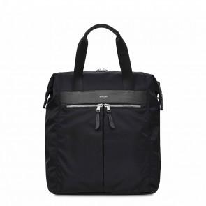 Knomo Mini Chiltern Tote Backpack Black 13 inch Voorkant