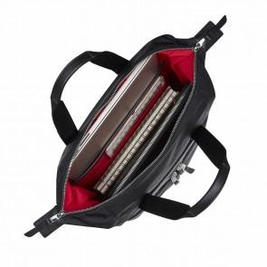 Knomo Mini Chiltern Tote Backpack Black 13 inch Open