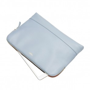 Knomo Molton Leather Cross Body Clutch Lido