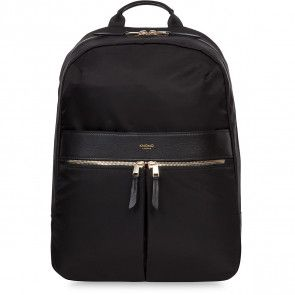 Knomo Beauchamp Backpack Black 14 inch Voorkant