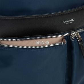 Knomo Beauchamp Backpack Navy 14 inch RFID vakje
