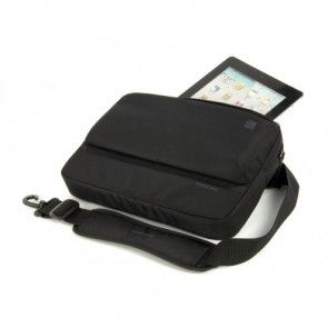 Laptop iPad tas Tucano Dritta Slim MacBook Air 11 inch / Ultrabook 11.6 inch Black Voorkant