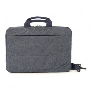 Tucano Linea Notebook Bag 15.6 inch Blue Voorzijde