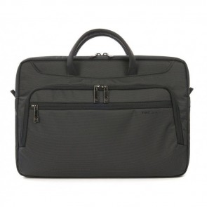 Tucano Work_Out II Compact Bag for MacBook Pro 15 inch Black Voorzijde