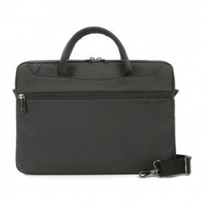 Tucano Work_Out II Slim Bag for MacBook Pro 13 inch Black Voorzijde