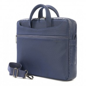 Tucano Work_Out II Slim Bag for MacBook Pro 13 inch Blue Zijdelings