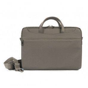 Tucano Work_Out II Slim Bag for MacBook Pro 13 inch Grey Voorzijde