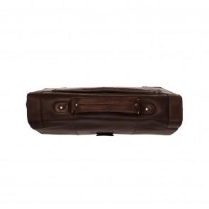 Chesterfield Leren Laptoptas Aktetas 13.3 inch Joe Bruin