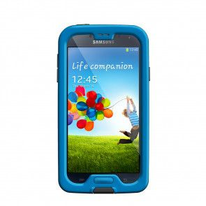 LifeProof Samsung Galaxy S4 Fre Case Cyan voorkant