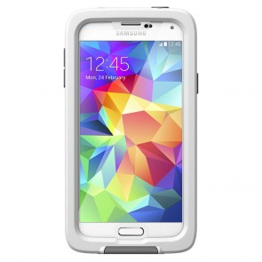 LifeProof Frē for Galaxy S5 Case White voorkant