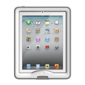 LifeProof Nuud iPad 2/3/4 Case White Voorkant