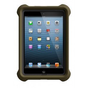 LifeProof LifeJacket for Frē or Nüüd iPad Mini 1, 2, 3 Case Olive Drab Green voorkant
