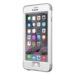 LifeProof Nüüd for iPhone 6 Plus Case Avalanche schuin voorkant