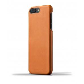 Mujjo Leather Case iPhone 7 Plus Tan Achterkant
