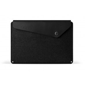 Mujjo Sleeve 15 inch MacBook Pro Black voorkant