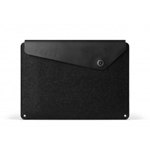 Mujjo Sleeve 12 inch MacBook Black voorkant
