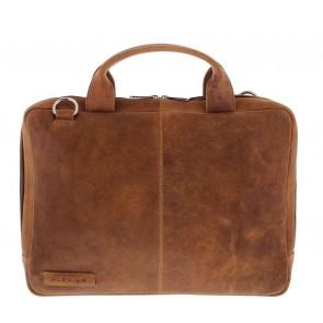 Plevier Urban Laptoptas / Sleeve 480 Cognac 14 inch Voorkant