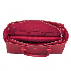 SOCHA Businessbag Caddy Red 14-15.6 inch Binnenkant