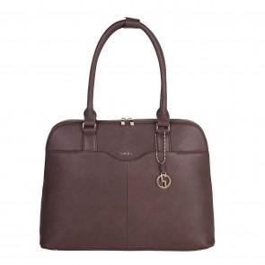 SOCHA Dames Laptoptas Couture Brun 14-15.6 inch Voorkant
