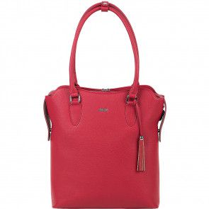 SOCHA Dames Laptoptas 13.3 inch 4Way Cherry Rood Voorkant