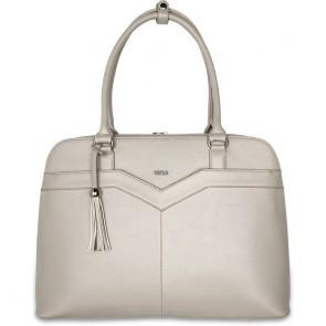 SOCHA Dames Laptoptas 15.6 inch Couture V Vanilla Voorkant