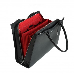 SOCHA Dames Laptoptas S-Line Power Bag Zwart 15.6 inch Open