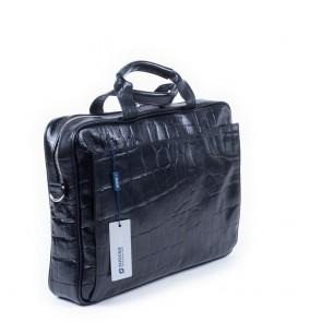 Laptoptas Succes Firenze Black 14-16 inch Voorkant
