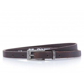 Take-It 435 Dames Leren Fashion Riem 95/1,5 Cm Bruin