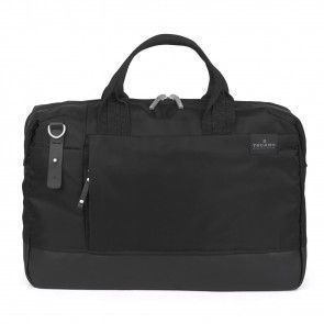 Tucano Agio Business Bag 15.6 inch Black voorkant