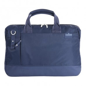 Tucano Agio Business Bag 15.6 inch Blue voorkant