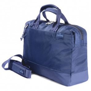 Tucano Agio Business Bag 15.6 inch Blue met schouderriem