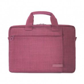 Tucano Svolta Medium Slim Laptoptas 13-14 inch Bordeaux voorkant
