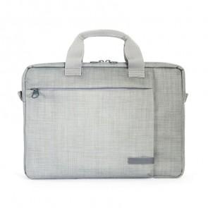 Tucano Svolta Slim Laptoptas 11 inch Grey voorkant