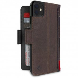 Twelve South BookBook iPhone 11 Case Wallet Bruin