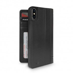 Twelve South Journal for iPhone X Black Achterkant