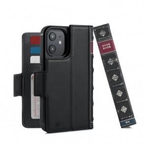 Twelve South BookBook iPhone iPhone 13 Pro Case Wallet Zwart