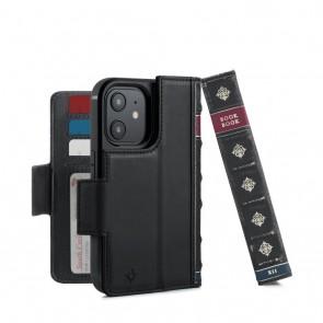 Twelve South BookBook iPhone 13 Case Wallet Zwart